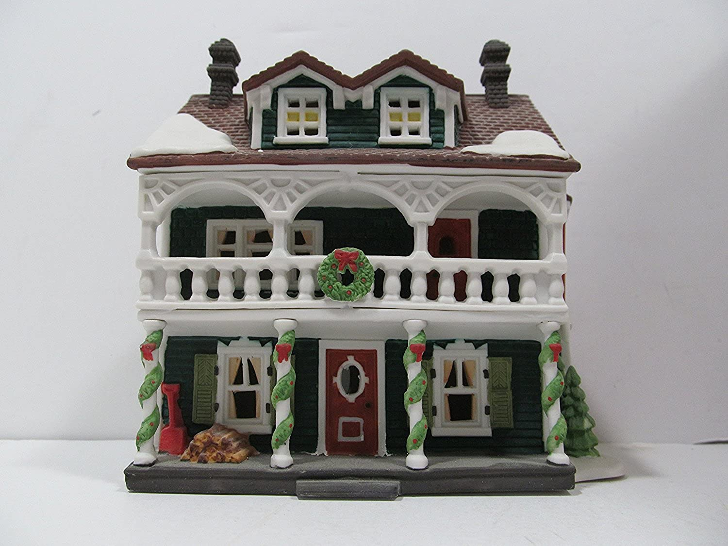 DEPT 56 NEW ENGLAND VILLAGE  CAPTAIN'S COTTAGE  RETIRED  59471