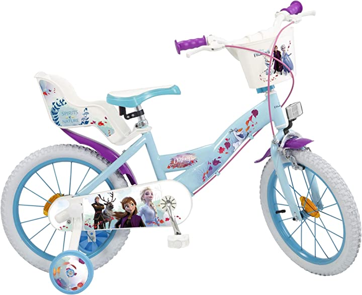Bicicletta per bambini, multicolore, misura unica toimsa 696 bicicletta frozen 2 bicicletta per bambine