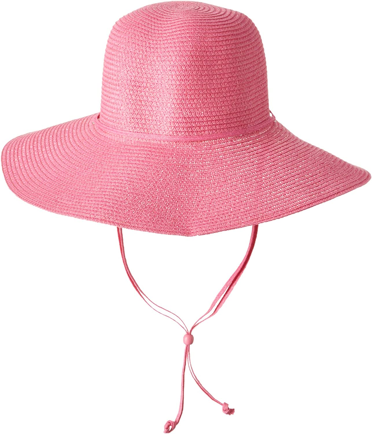 Midwest Gloves and Gear 42A6P-EA-AZ-6 Ladies Outdoor Straw Hat, Pink