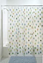 InterDesign Robotz Shower Curtain PVC Free, 72 x 72, Multi