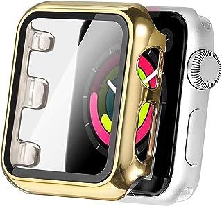 CML Pokrywa obudowa ekranu PASOWAĆ Dla Apple Watch Series 6 5 4 3 2 SE I. Zegarek 38mm 40mm Akcesoria ochronne 42mm 44mm 4...