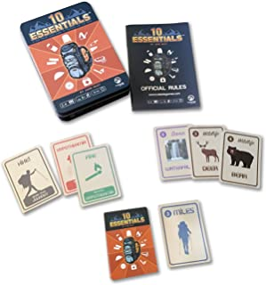 10 Essentials Family Card Game