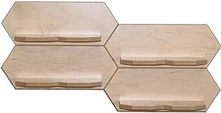 360 Knife Block Spec Deck (1, Maple) Modular Floating Shelving