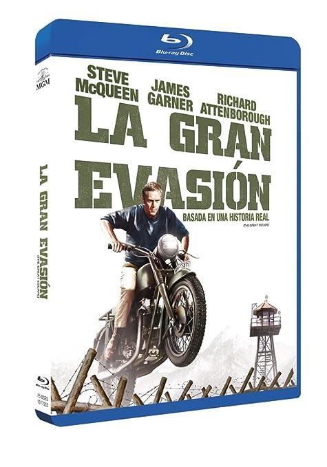 La Gran Evasion - Blu-Ray [Blu-ray]: Amazon.es: Steve ...