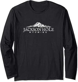 Jackson Hole Shirt Long Sleeve, Wyoming Mountain Shirt