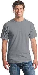 Gildan mens Heavy Cotton 5.3 oz. T-Shirt(G500)-GRAVEL-S-10PK