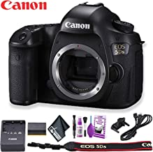 Canon EOS 5DS DSLR Camera (International Model) Basic Kit