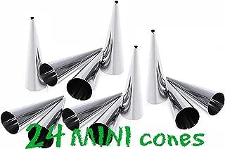 stainless steel cream horn molds