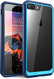 SUPCASE Unicorn Beetle Series Case Designed for iPhone 8 Plus, Premium Hybrid Protective Clear Case for Apple iPhone 7 Plus 2016 / iPhone 8 Plus 2017 Release (Blue/Navy)