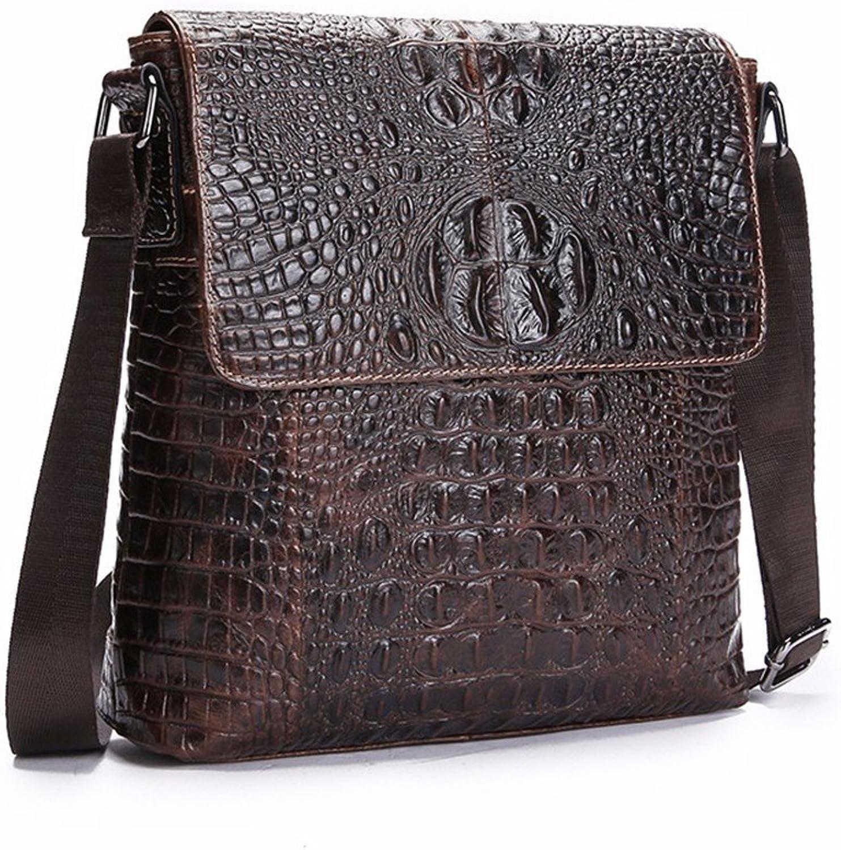 WanJiaherrenhop Die Echten Leder Tasche Tasche Tasche Männer Handtaschen, lässige Tasche, 27 x 6 x 27 cm B077B7HNGG | New Style  10f47e