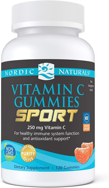 Nordic Naturals Max 67% OFF Cheap super special price Vitamin C Gummies Sport Gu - 120 Tart Tangerine