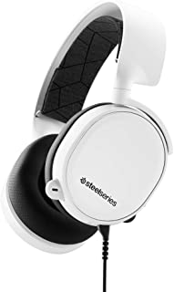SteelSeries Arctis 3 2019 Edition Gaming Headset (White)