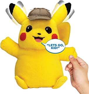 Pokémon Detective Pikachu Movie Interactive Talking Plush - 2 Voice Modes - 12