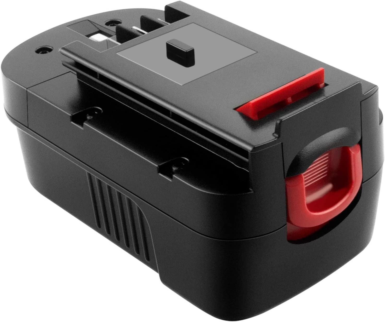 ADVNOVO 18V 3.0Ah Ni-MH Batería de Reemplazo para Black Decker 18V HPB18 HPB18-OPE A18 A1718 244760-00 A18NH A18E Firestorm FSB18
