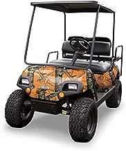 Mossy Oak Graphics (10060-BZ) Blaze 4' x 10' Roll Golf Cart Camouflage Kit
