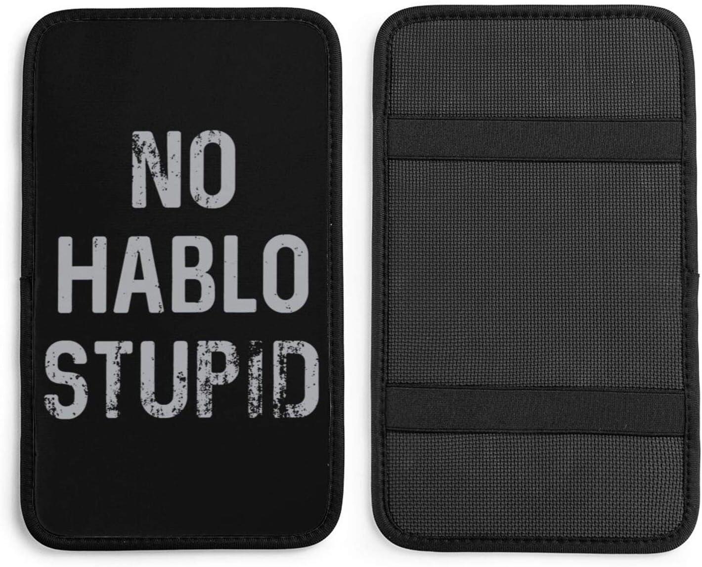 No Hablo Stupid Import Car Armrest Cushion High quality new Control Central Box