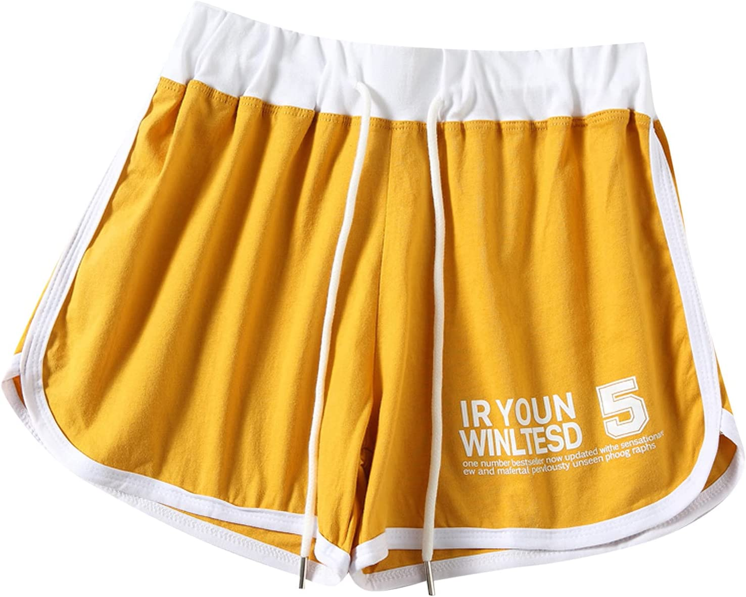 KEJINKCSEE Sports Shorts 5 ☆ very popular for Women Be Summer Letter Popular brand in the world Print Casual