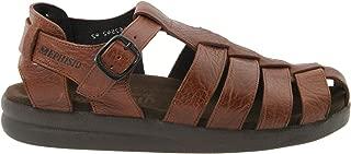 SAM MAMOUTH Desert Brown Leather Sandal for Men 44(EUR) 10(US)