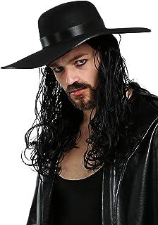 Fun Costumes Mens WWE Undertaker Licensed Wig Standard Black
