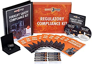 Forklift Safety Certification Kit - DVD or USB - 100% OSHA Compliant Forklift Training - Includes Video, Quiz, Trainee Han...