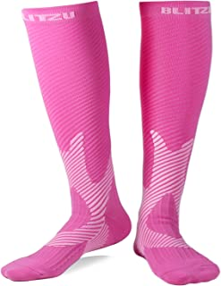 Compression Socks 20-30mmHg Men Women Recovery Running Travel Nursing