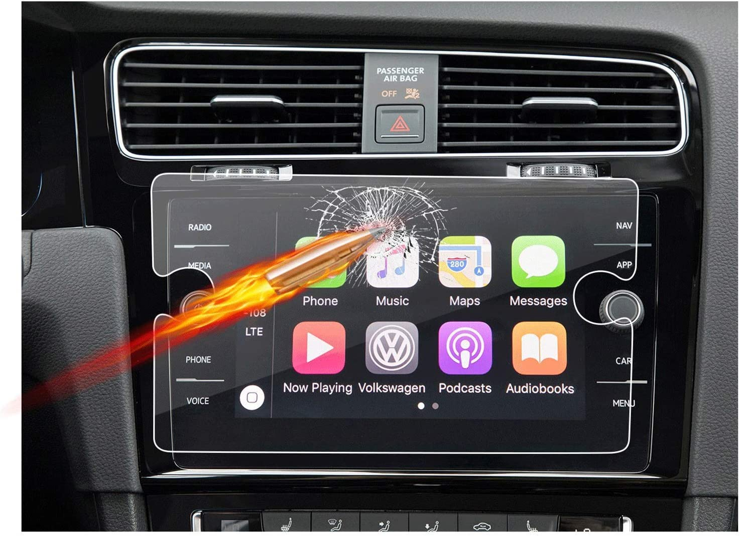 Customized for 2018 Volkswagen GTI Navi Free Shipping Cheap Bargain Gift Display Screen Touch Car Popular popular