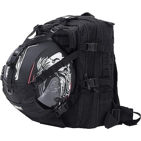 Og Online Go Motorrad Rucksack Go Schwarz Wasserdicht 20l Motorradhelm Tasche Helm Trageriemen Biking Mann Laptop Fach Reflektierend Anti Diebstahl Sport Freizeit