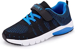 Kids Tennis Shoes Running Sports Shoes Breathable Athletic Shoes Lightweight Walking Shoes Fashion Sneakers for Boys and Girls