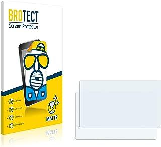 brotect Protector Pantalla Anti-Reflejos Compatible con Lowrance Elite-7 HDI (2 Unidades) Pelicula Mate Anti-Huellas