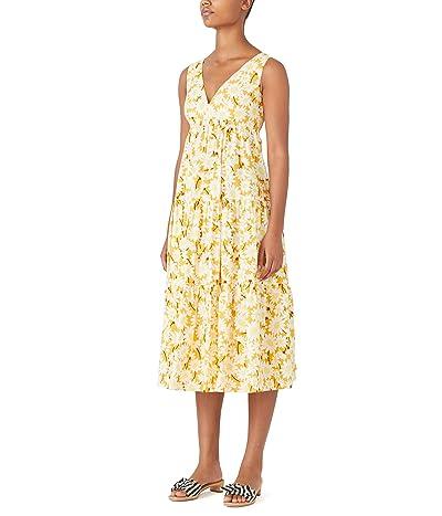 Kate Spade New York Kate Daisy Vineyard Midi Dress