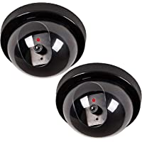 2 Pack Wali Dummy Fake Security CCTV Dome Camera