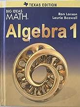 Best big ideas algebra 1 texas Reviews