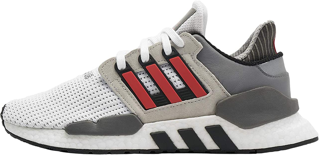 adidas EQT Support 91/18 - FTWR White/Hi-Res Red/Grey Two Trainers ...