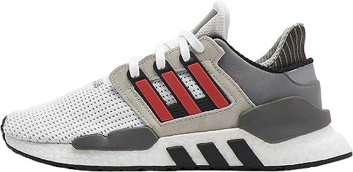 Adidas Originals EQT Support 91 18, Footwear blanco-hi-Res rojo-gris Two, 11,5