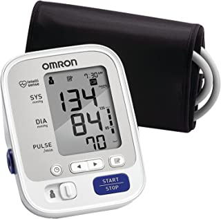 Omron 5 Series Upper Arm Blood Pressure Monitor; 2-User, 100-Reading Memory, Soft..