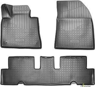 2006-2013 Fußmatten Autoteppiche CARBON Citroen C4 Grand Picasso Bj