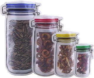 Juntas de Vidrio Juntas de Silicona Jar Llave de Apertura con Cierre. 25 Cilindros de Silicona HIMETSUYA