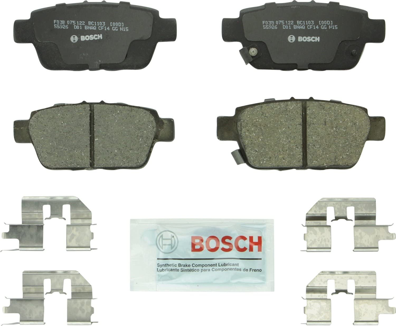 Bosch BC1103 QuietCast Premium Ceramic San Diego Mall Bargain Disc Brake For: Pad A Set