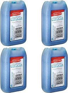 Rubbermaid - 1026-TL-220 Blue Ice Mini Pak, Reusable, 8 Oz (Pack Of 4)