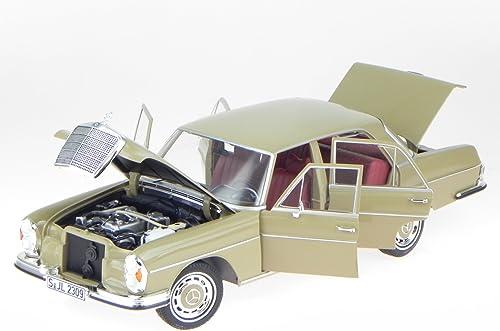 Mercedes W108 S-Klasse 280 SE beige Modellauto Norev 1 18