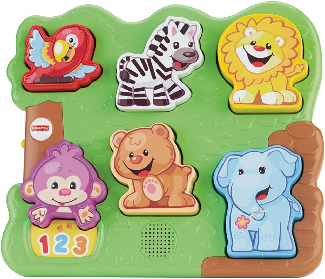 Free shipping anywhere in the nation safety Fisher-Price Laugh Learn Puzzle Zoo Animal