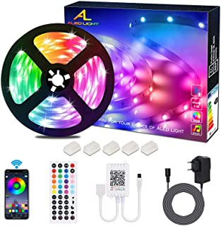 ALED LIGHT LED Strip RGB 5M SMD 5050 150 LED's LED strips, LED tape, 12V voeding & 44 toetsen afstandsbediening, LED strep...