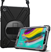 ProCase Galaxy Tab S5e 10.5 2019 Case T720 T725, Rugged Heavy Duty Shockproof Rotating Kickstand Protective Cover Case for Galaxy Tab S5e 10.5 Inch Model SM-T720/SM-T725 2019 Release -Black