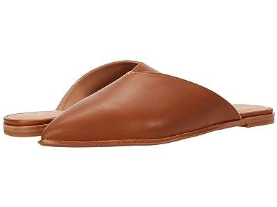 Madewell Keely Pointy Toe Mule (English Saddle Leather) Women