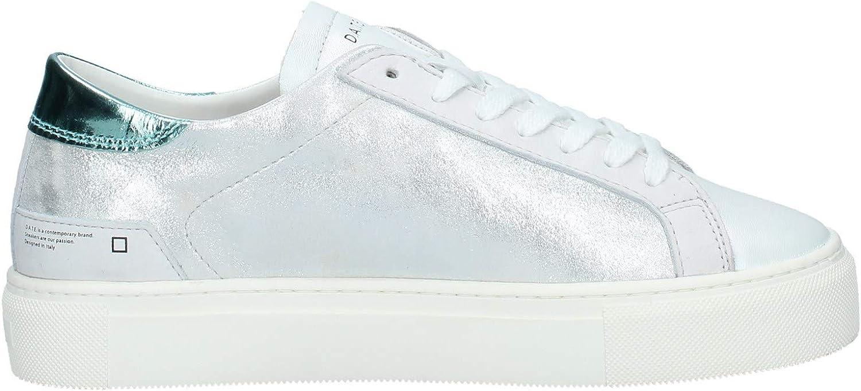 D.A.T.E. W321-VE-LA-SL Sneakers Woman silver XMeWYl