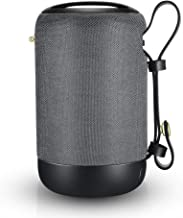 Bluetooth Speakers Portable, IPX56 Waterproof Speaker Wireless, 20W Dual Drivers, HD Surround Sound, Built in Mic, TF/AUX/USB Port, Auto Off, Perfect Loud Speaker for Home Travel Beach Party(Gray)