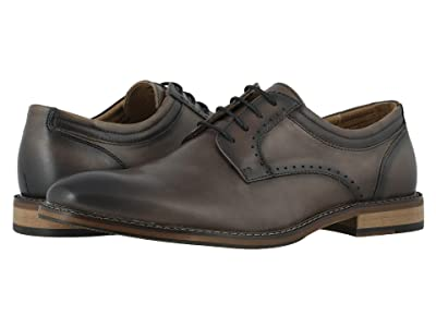 Stacy Adams Faulkner Plain Toe Oxford (Gray) Men