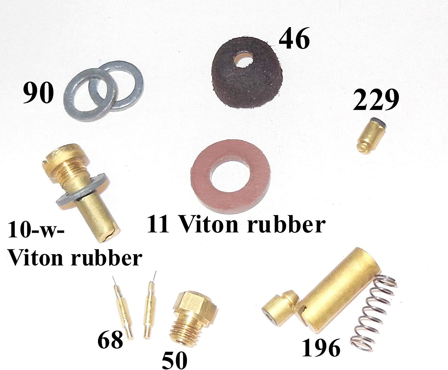 BriteLyt Petromax USA Parts kit with Leather with Viton Rubber