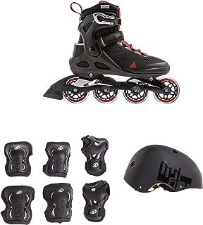 Rollerblade USA Men's, Size 11 & Rollerblade USA Pads w/ Rollerblade USA Helmet