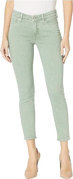 Ava Skinny Jeans in Iceberg Green